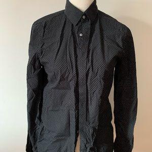 Express polka dot dress shirt